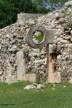 The ruins of Uxmal, Merida, Mexico Mayan Ruins, Ancient Ruins, Tikal, Mayan History, Ancient History, Temples, Merida Mexico, Peru, Ancient Architecture