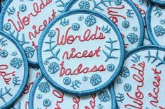 World's Nicest Badass Patch
