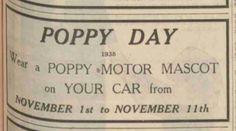 Royal British Legion. 2 November, 1935.