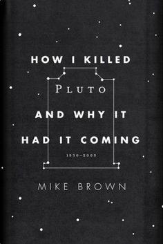 How I Killed Pluto book cover