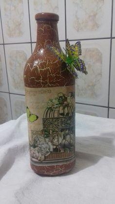 Maria Jose, Wine Bottle Crafts, Wine Bottles, Altered Bottles, Creative, Dreams, Home Decor, Decorative Bottles, Mason Jars