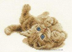 Kitten Playing - DMC Cross Stitch Kit