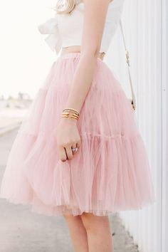 Hot Sale Knee Length Womens Tutu Skirt Ladys Party Prom Petticoat Plain Dress