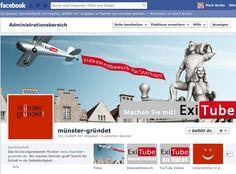 facebook ExiTube Gründernetzwerk Münster, cowork with IHK, WfM, Sparkasse Münster