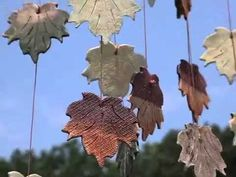 autumn wind chime