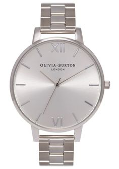 Olivia Burton Big Dial Bracelet Watch - Silver main image http://www.thesterlingsilver.com/product/casio-baby-g-womens-watch-bg-169r-1er/