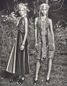 Swing into Spring with Fringe.   Image via W Magazine February 2014