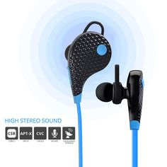 Vankey Bluetooth Headphones,Sports Earbuds Earphones Headset Headphone for Running Gym Exercise with Microphone