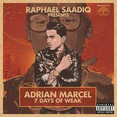 "#NowPlaying #Track: Adrian Marcel - 7 Days of WEAK - ""My Life"" #Spotify #Music Track URL: http://spoti.fi/2lIMCkK #Pinterest #MusicIsLife"