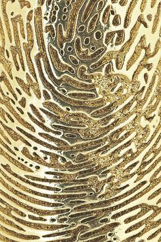 Gold | ゴールド | Gōrudo | Gylden | Oro | Metal | Metallic | Shape | Texture | Form | Composition | finger print