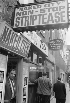 News Photo : Naked City, a sex shop in Soho, London, England,. North London, Old London, Soho Club, London Pictures, London Photos, Berwick Street, Sweet Charity, Derby Day, London Calling