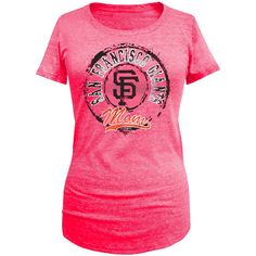 San Francisco Giants 5th & Ocean by New Era Women's Mother's Day Tri-Blend T-Shirt - Pink - $19.19