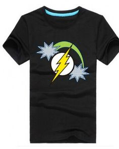 Superhero the Flash mens t shirt short sleeve