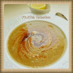 Süzme Mercimek corbasi bilen bilir bu sosla daha lezzetli..         |          MUTFAK FELSEFEM