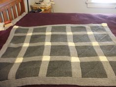 Ravelry: Project Gallery for Fenced In Afghan pattern by Miriam L. Felton