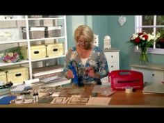 Craft Dies by Sue Wilson -- Tutorial Video - Joy to the World for Creative Expressions - YouTube