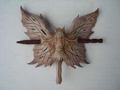 faerie barrette by wingandtalon at Etsy.com
