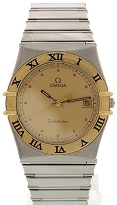 020261ff932 Omega Constellation swiss-quartz gold mens Watch 396.1070.1 (Certified  Pre-owned