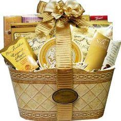Wedding Gift Art Of Reciation Baskets Golden Elegance Gourmet Food Set Thank You