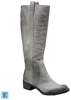 Lucky Brand Hibiscus Boots in Silver Cloud. My new boot for fall! Grey Boots Outfit, Gray Boots, Gold Fashion, I Love Fashion, Fashion Ideas, Women's Fashion, Heeled Boots, Shoe Boots, Shoes Flats Sandals