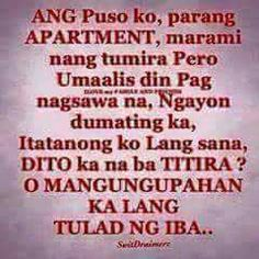 O permanente ka na sa kin? Hugot Quotes Tagalog, Memes Tagalog, Hugot Lines Tagalog, Tagalog Love Quotes, Sad Love Quotes, Funny Quotes About Life, Bisaya Quotes, Patama Quotes, Words Quotes