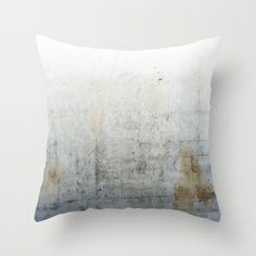Concrete Throw Pillow by cafelab