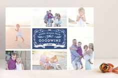 Apothecary Label Christmas Photo Cards by Paper Dahlia at minted.com