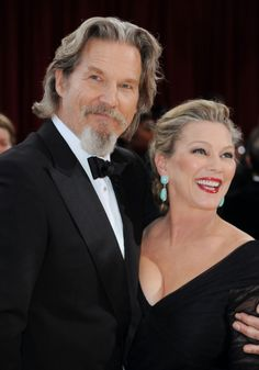 Jeff Bridges & Susan Geston married 35 years