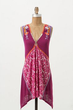 Coral Winds Tank #anthropologie