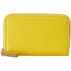 Marc by Marc Jacobs Sophisticato Zip Card Case (4,330 DOP) ❤ liked on Polyvore featuring bags, wallets, canary yellow multi, wallets & accessories, party bags, card holder wallet, yellow party bags, print wallets and marc by marc jacobs