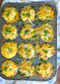 These little egg cups are easy to make, fast, and perfect for breakfast on the go!