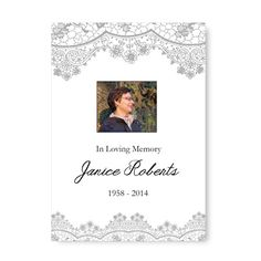 25 Personalised Funeral Order of Service 4 Page - FREE Guaranteed Next Day Delivery - Code: Funeral Order Of Service, Funeral Planning, Next Day, Branding Ideas, In Loving Memory, Receptions, A5, Celebration, Stationery