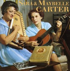 The Carter Family - Sara & Maybelle Carter music CD album at CD Universe, Far more important than the Eagles getting back together was the reunion of Sara. June Carter Cash, Classic Country Artists, Classic Singers, John Cash, Fingerstyle Guitar Lessons, Electric Guitar Lessons, Johnny And June, Family Songs, Carter Family