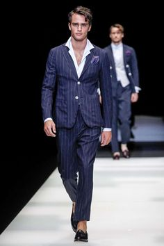 Male Fashion Trends: Giorgio Armani Spring-Summer 2018 - Milan Fashion Week