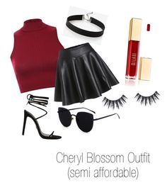 """""""Cheryl Blossom Outfit ❤️"""" by cherylblossomoutfits on Polyvore featuring Pilot and Express"""