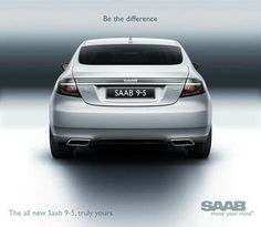 The All-New Saab 9-5 Advertisement