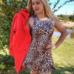 Vestido de Onça / jahsaude