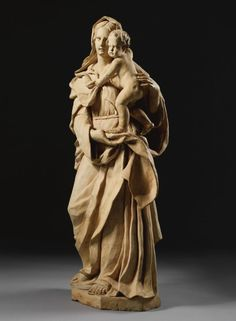 A large Italian terracotta group of the Madonna and Child, second half 17th century, Tuscany.    | © 2015 Sotheby's