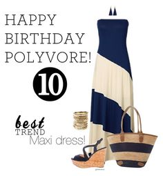 """Celebrate Our 10th Polyversary!"" by gchamama ❤ liked on Polyvore featuring Prada, Amrita Singh, polyversary and contestentry"