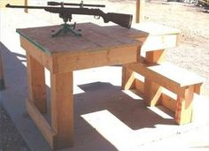 Plans For Building A Shooting Bench