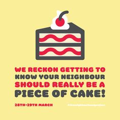 Piece of Cake campaign | THOMPSONCo. Design & Branding Studio