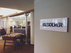 Our new office sign! #BeMore