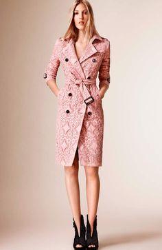 mytheresa.com - Kensington lace trench coat - Luxury Fashion for Women / Designer clothing, shoes, bags