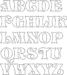 drawings of lettering - Yahoo Image Search Results Stencil Lettering, Lettering Tutorial, Letter Stencils To Print, Alphabet Letter Templates, Hand Lettering Alphabet, Alphabet Stencils, Doodle Lettering, Graffiti Alphabet, Graffiti Lettering