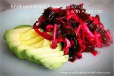 Amazing Benefits of Seaweeds + Detoxifying Beet, Apple and Kelp Seaweed Salad Recipe