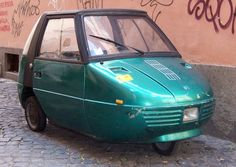 1986 Piaggio ACAM (Italy) Galassia 50 Two-Seat Micro Car 59cc Single Cylinder Two Stroke Engine