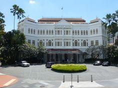 Raffles Hotel, Singapore (We had high tea here.)