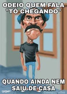Kkk engraçado q sou assim kkk atrazada tbm 😹😹😅 Spanish Jokes, Funny Spanish Memes, Smiley Emoji, Funny Quotes, Funny Memes, A Guy Like You, Humor Mexicano, Real Life Quotes, Lettering Tutorial