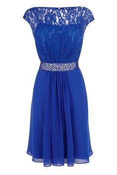 Buy Coast Lori Lee Lace Short Dress, Cobalt from our Women's Dresses range at John Lewis & Partners. Free Delivery on orders over Short Dresses, Prom Dresses, Bridesmaid Dresses, Lace Dresses, Bridesmaids, Bridesmaid Ideas, Sleeve Dresses, Pretty Dresses, Winter Wedding Outfits