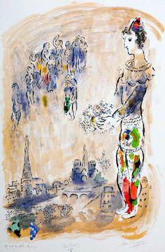 Marc Chagall | Paris through my window | 1913 more on #marcchagall http://www.johanpersyn.com/category/humanity/art/marc-chagall/